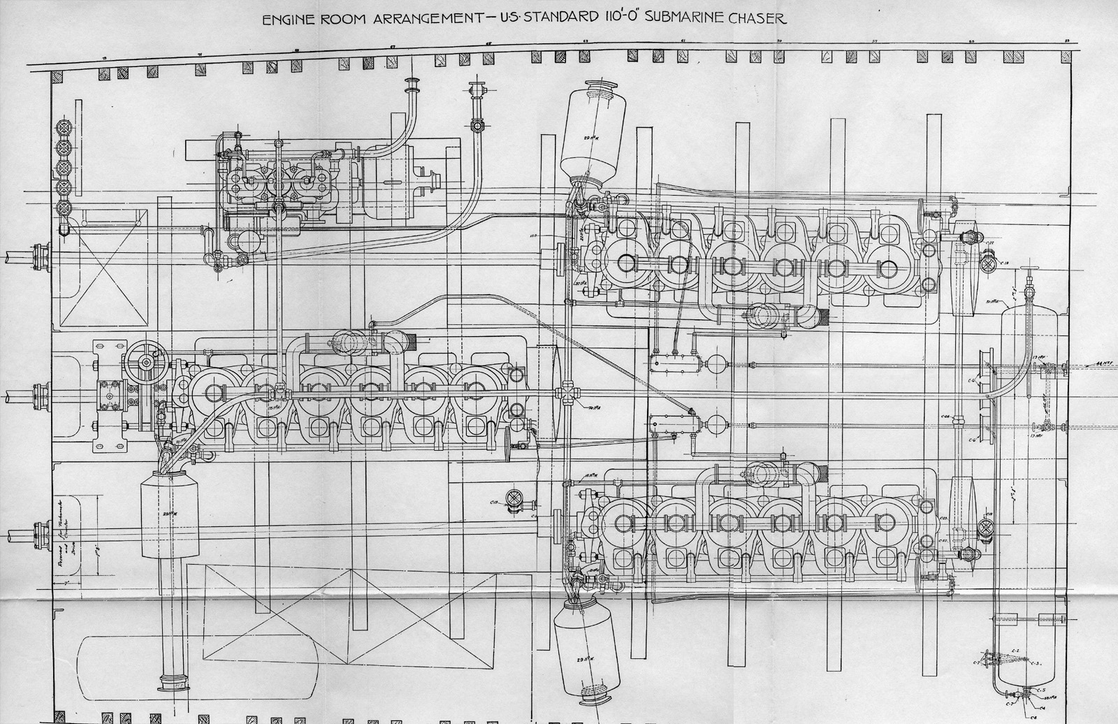 Engine Room Arrangement The Subchaser Archives