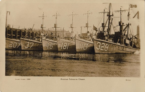 submarine chaser SC 207 and others