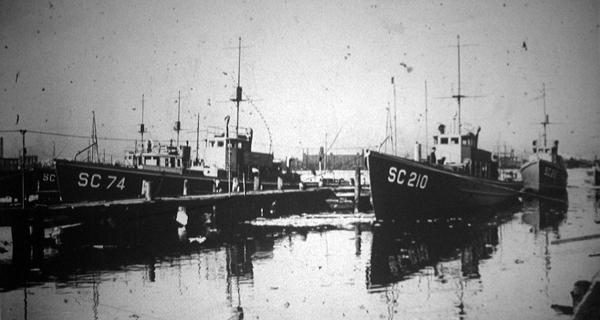 Submarine Chaser SC 210 and SC 74