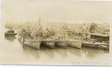Submarine Chaser SC 216 and others