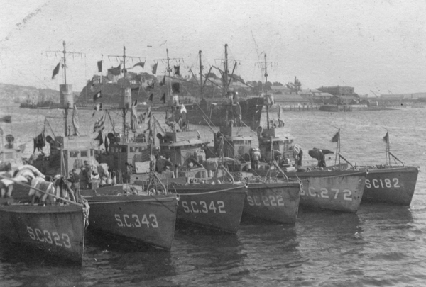 Submarine Chaser SC 222 and others