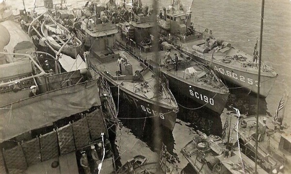 Submarine Chaser SC 253 and others