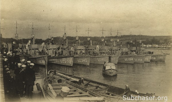 Submarine Chaser SC 271 and others