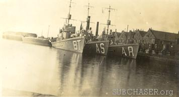 Submarine Chaser SC 354, SC 95 and SC 256