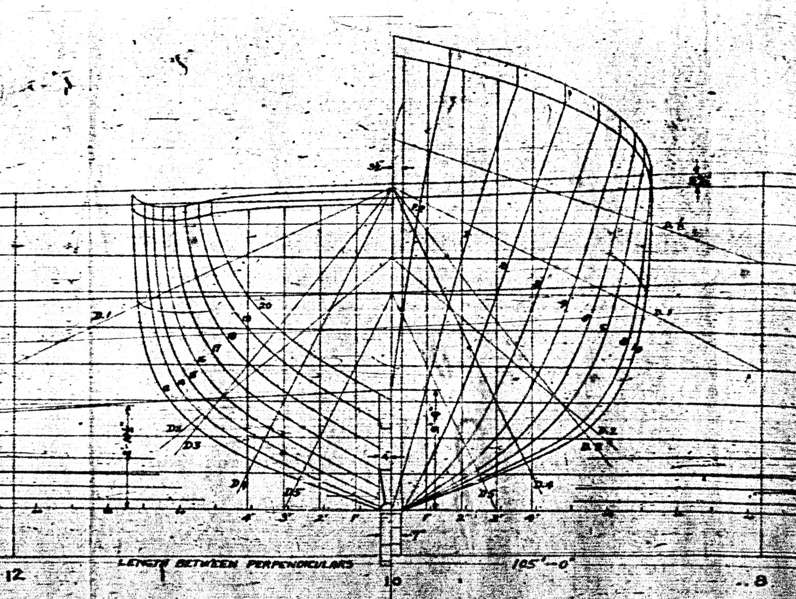 Chaser Lines Drawings The Subchaser Archives