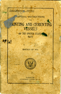 Painting USN vessels