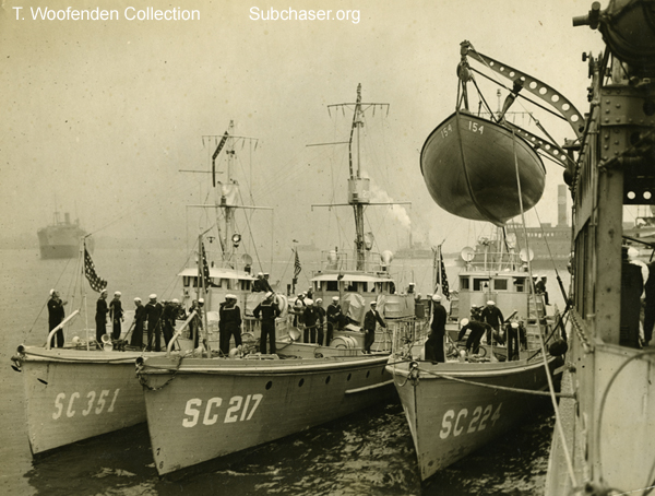 Submarine Chaser SC 351 and others