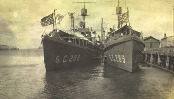 Submarine Chaser SC 288 and SC 289, Canal Zone