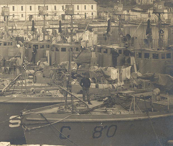 Submarine Chaser SC 385 marked as C 80