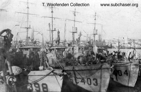 Submarine Chaser SC 403 and others
