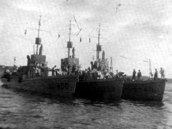 Submarine Chaser SC 399 and others
