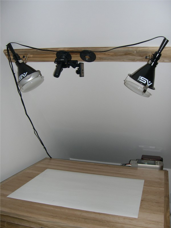 making a permanent shooting table  on a budget