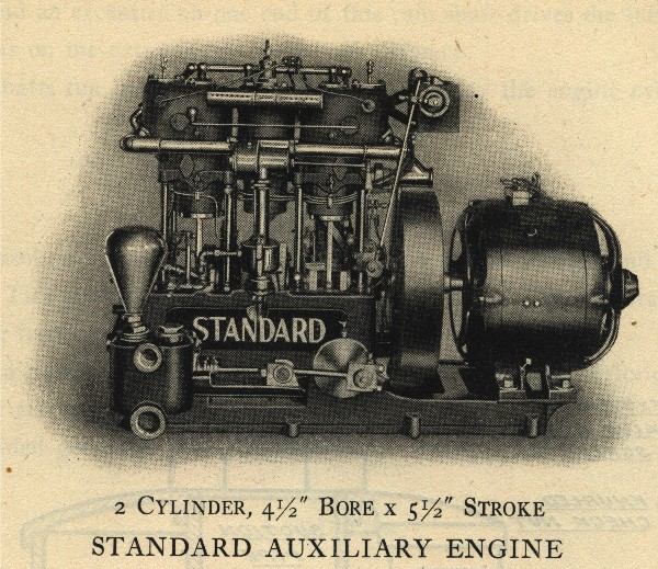 Standard Motor auxiliary engine