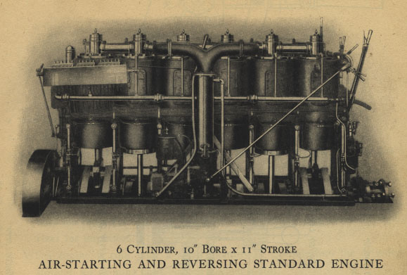 Standard Motor 220hp engine