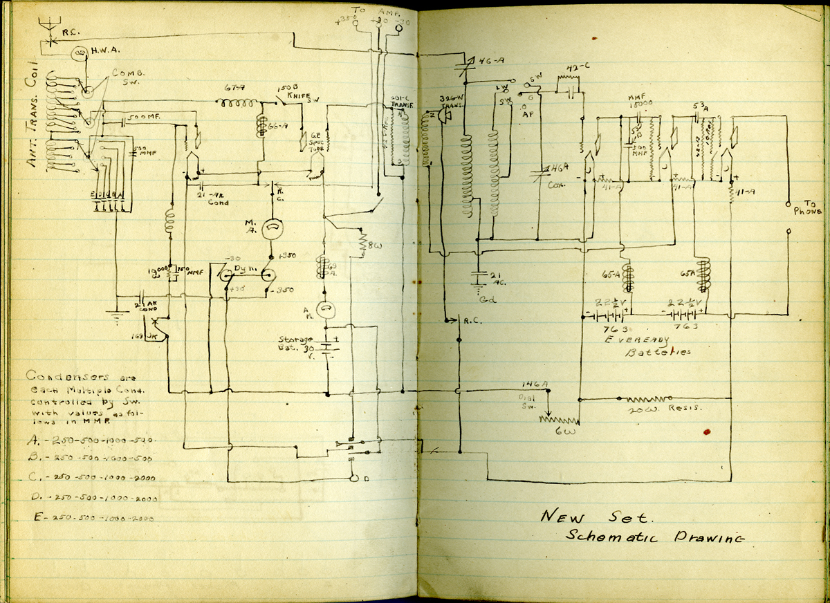 Wireless Telephone Training - 05 - Large Schematics | The Subchaser