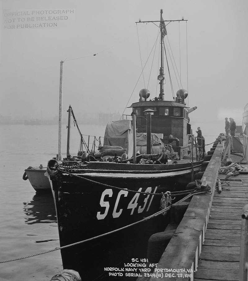 Submarine Chaser SC 431, second image