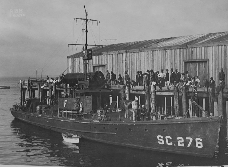 Submarine Chaser SC 276, post-war