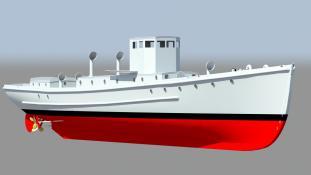 Hull - 3D Model by Vladimir Kuchumov