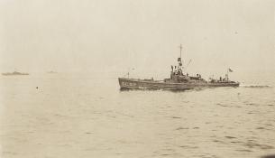 SC 52 underway. National WWI Museum, collection 2014.111