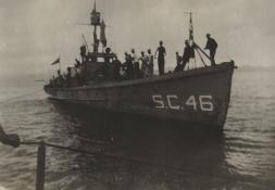 Crewmen on SC 46. National WWI Museum, collection 2014.111.