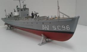 Glencoe 1:74 model build by Joe  Caputo. 03