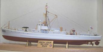 Subchaser model, Larry Bowers