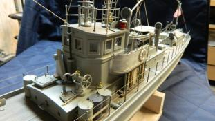 Pilot house. Chaser model by Dave Richey.