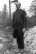 Lansing in CPO uniform blue c. 1918-1919