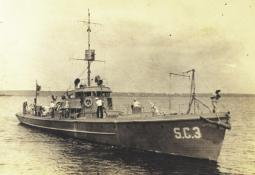 Submarine Chaser SC 3. ollection of subchaser crewman Benjamin Lihue (Hugh) Gray.