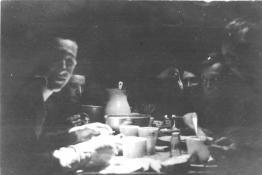 Crewmen at mealtime