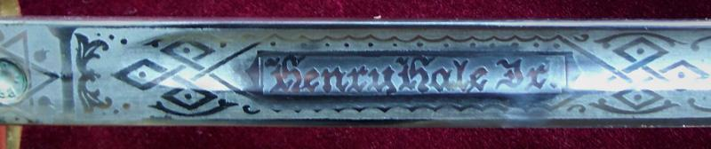 sword engraving