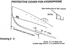 Drawing 2: Hydrophone Cover