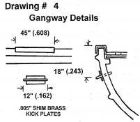 Drawing 4: Gangway
