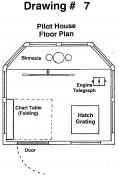 Drawing 7: Pilot House Plan