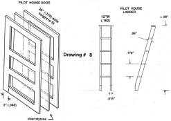 Drawing 8: Pilot House Door / Ladder