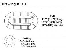 Drawing 10: Life Raft / Ring