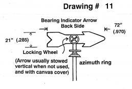 Drawing 11: Bearing Indicator