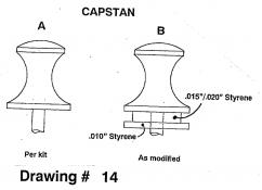 Drawing 14: Capstan