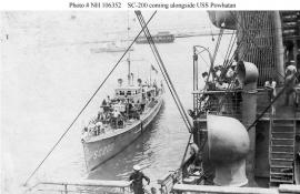 Submarine chaser SC 200. NH 106352, Archives Branch, Naval History and Heritage Command