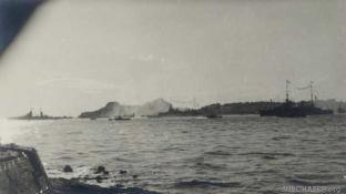 Celebrating the Armistice at Corfu
