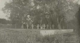 Cemetery at Base 25
