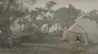 Tents at Base 25
