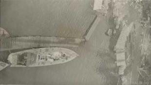 A boat at Base 25