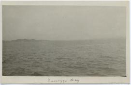 Durazzo Harbor, during the Durazzo engagement of 2 October 1918. G.S. Dole Collection.