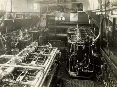 Engine room, SC 112