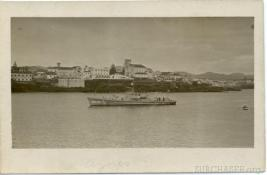 Submarine chaser SC 151, Azores. G.S. Dole Collection