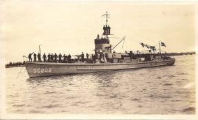 Subchaser SC 202. John Pierson collection