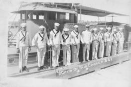 Crew of submarine chaser SC 341, courtesy of Dave Muth