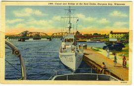 Postcard of SC 432 at Sturgeon Bay, WI.