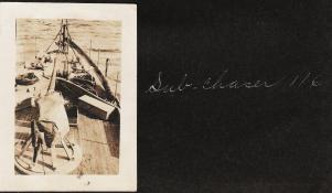 Bow of submarine chaser SC 116